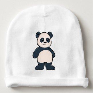 Cute Cartoon Panda Baby Beanie