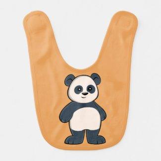 Cute Cartoon Panda Baby Bib