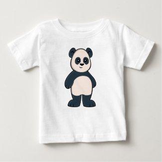 Cute Cartoon Panda Baby T-Shirt