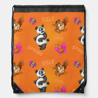 cute cartoon panda bear bag