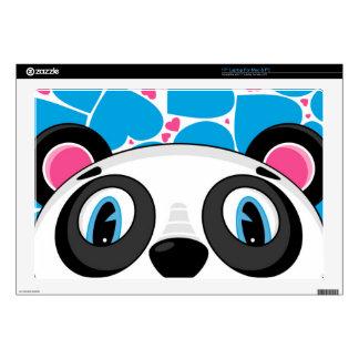 Cute Cartoon Panda Bear Laptop Decal