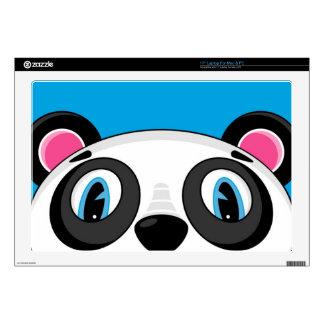 Cute Cartoon Panda Bear Laptop Skin