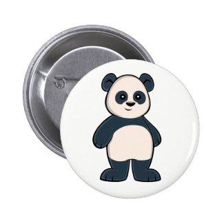 Cute Cartoon Panda Button
