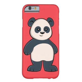 Cute Cartoon Panda iPhone 6 Case