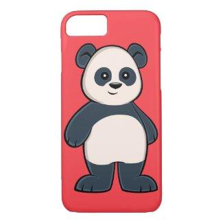 Cute Cartoon Panda iPhone 7 Case