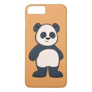 Cute Cartoon Panda iPhone 7 Plus Case