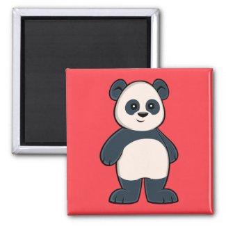 Cute Cartoon Panda Magnet