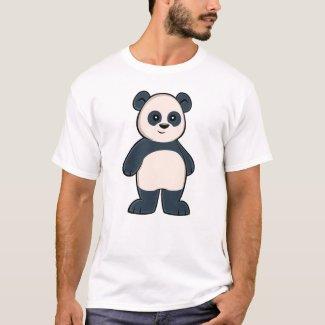 Cute Cartoon Panda Men's T-Shirt