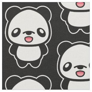 Cute Cartoon Panda Pattern Fabric c1c0697fa31