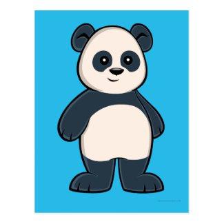 Cute Cartoon Panda Postcard