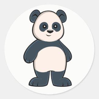 Cute Cartoon Panda Sticker