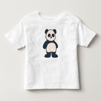 Cute Cartoon Panda Toddler T-Shirt