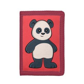 Cute Cartoon Panda Wallet