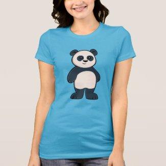 Cute Cartoon Panda Women's T-Shirt