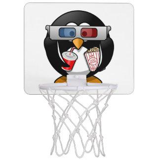 Cartoon penguin mini basketball hoops cartoon penguin indoor hoop