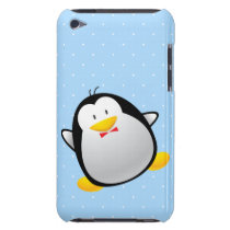 Cute Cartoon Penguin Barely There iPod Case