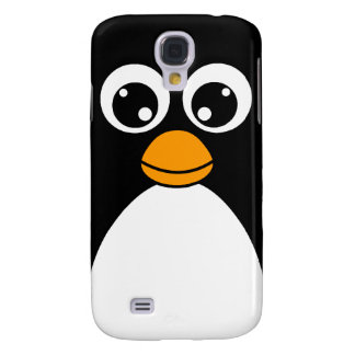 Cute Cartoon Penguin Black and White Samsung S4 Case