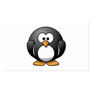Cute Cartoon Penguin Business Card