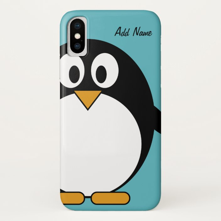Cute Cartoon Penguin Ipod Touch Case Mate Iphone Case Zazzle Com