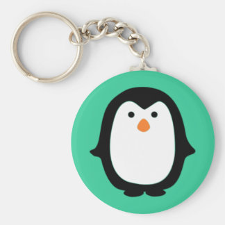 Cute Cartoon Penguin Keychain