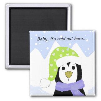 Cute Cartoon Penguin Magnet