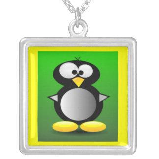 Cute Cartoon Penguin Necklace