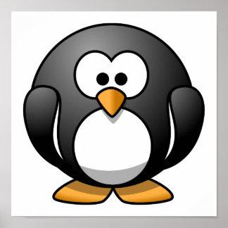 Cute Cartoon Penguin Posters