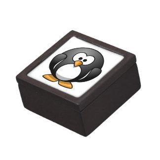 Cute Cartoon Penguin Premium Gift Box