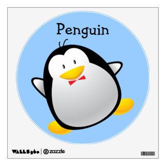 Cute Cartoon Penguin Wall Decal