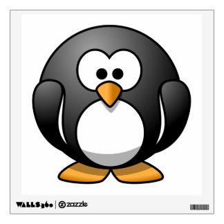 Cute Cartoon Penguin Room Graphic