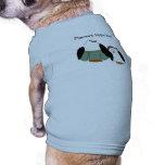 Cute Cartoon Penguins Dog T-shirt