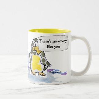 Cute Cartoon Personalized Penguin Mug