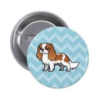 Cute Cartoon Pet 2 Inch Round Button