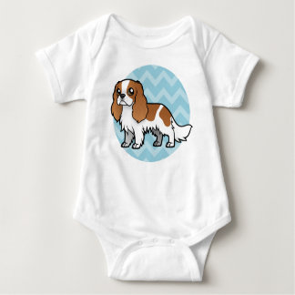 Cute Cartoon Pet Baby Bodysuit