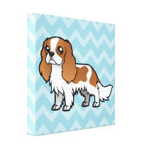 Cute Cartoon Pet Canvas Print