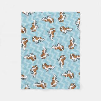 Cute Cartoon Pet Fleece Blanket