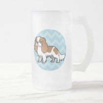 Cute Cartoon Pet Frosted Glass Beer Mug