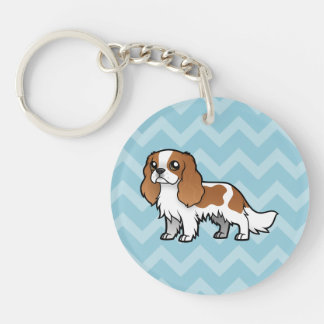 Cute Cartoon Pet Acrylic Key Chain