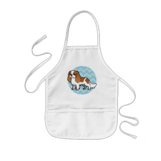Cute Cartoon Pet Kids' Apron