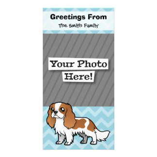Cute Cartoon Pet Customized Photo Card