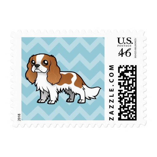 Cute Cartoon Pet Postage Stamp