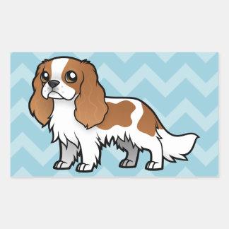 Cute Cartoon Pet Rectangular Sticker