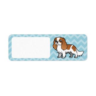 Cute Cartoon Pet Return Address Label