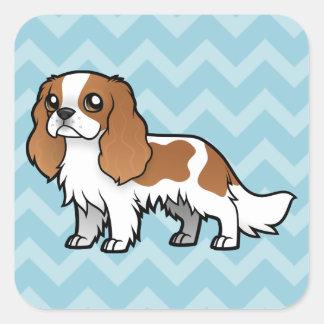 Cute Cartoon Pet Square Sticker