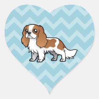 Cute Cartoon Pet Heart Sticker