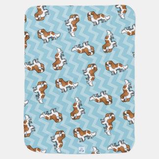 Cute Cartoon Pet Stroller Blanket