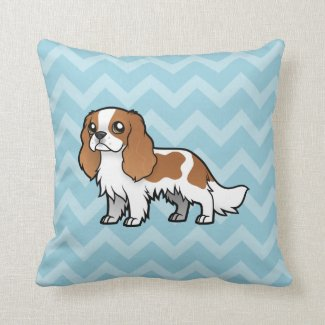 Cute Cartoon Pet Throw Pillow