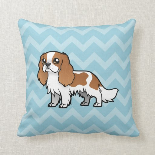 Cute Cartoon Pet Throw Pillow Zazzle