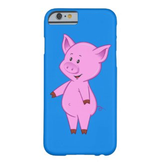 Cute Cartoon Pig iPhone 6 Case