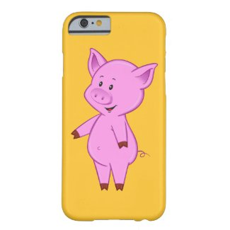 Cute Cartoon Pig iPhone 6 Case